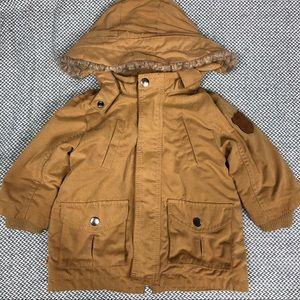 H&M | 6-9 Month Sherpa Winter Jacket